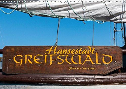 Hansestadt Greifswald (Wandkalender 2019 DIN A3 quer)