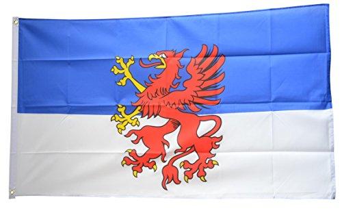 Flagge Deutschland Vorpommern - 90 x 150 cm