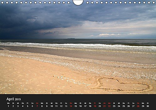 Usedom 2019 (Wandkalender 2019 DIN A4 quer): verschiedene Ansichten der Insel Usedom (Monatskalender, 14 Seiten ) (CALVENDO Orte) - 5