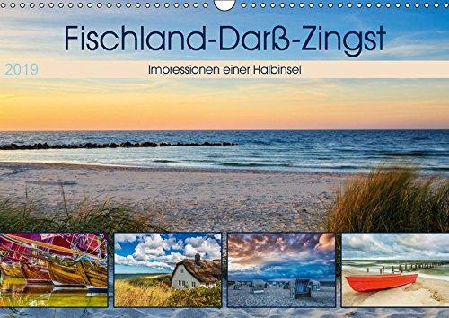 Fischland-Darß-Zingst 2019 Impressionen einer Halbinsel (Wandkalender 2019 DIN A3 quer)