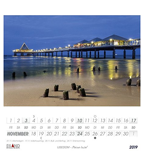 Usedom - Kalender 2019: Meine Insel - 12